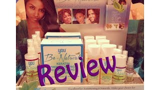 *13* Luster You Be-Natural Keratin Strengthening and Conditioning System Review