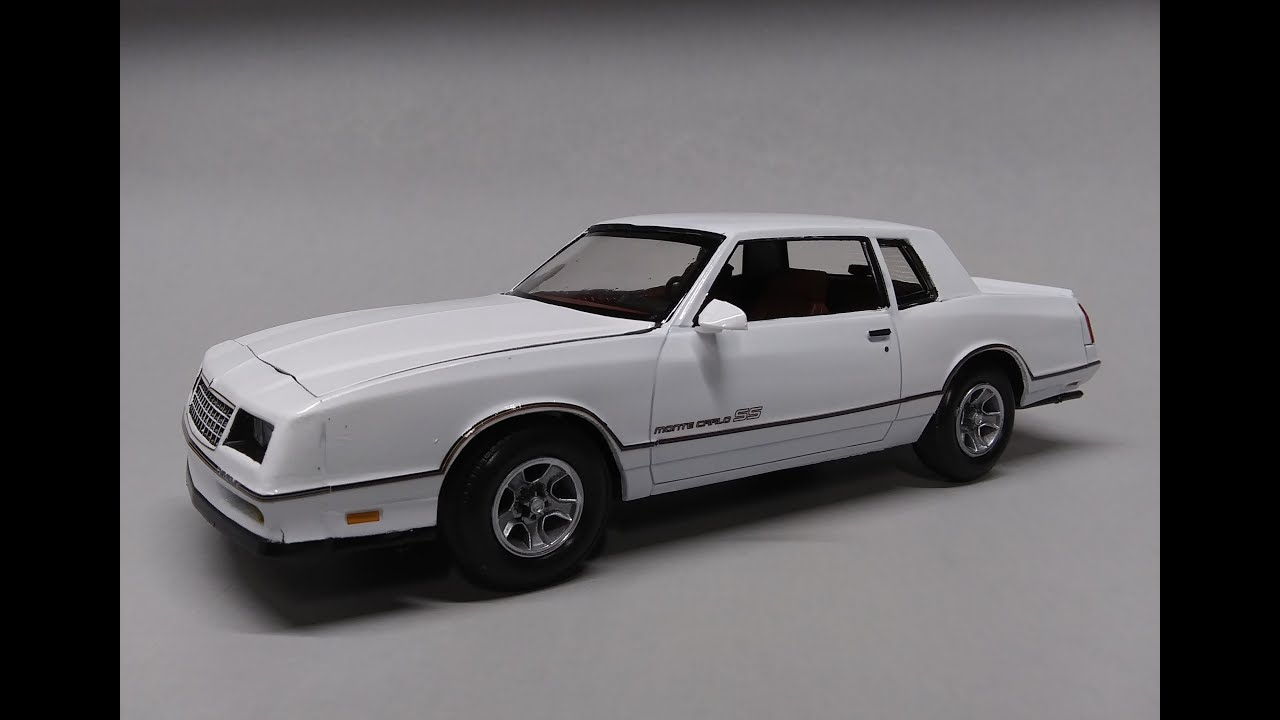 Revell 1986 Chevy Monte Carlo SS 2n1 1/24 Scale Model Kit Build Review  85-4496