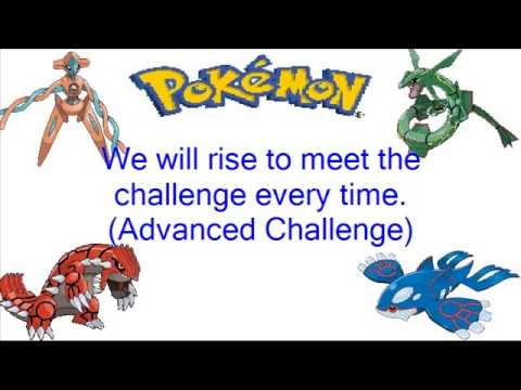Pokemon Advanced Challenge: This Dream Theme Song + Lyrics