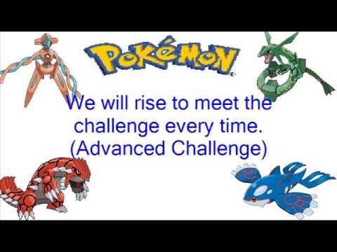 Pokemon Advanced Challenge: This Dream Theme Song + Lyrics