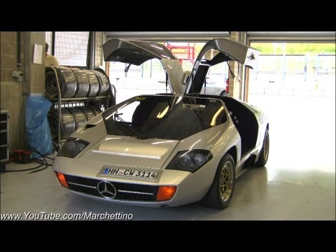 Mercedes Isdera Imperator Powerslides And Accelerations!