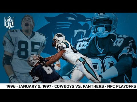 1996 Divisional Playoffs: Panthers First Playoff Win | Cowboys vs. Panthers (FULL GAME) | NFL
