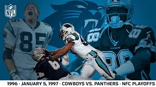 1996 Divisional Playoffs: Panthers First Playoff Win | Cowboys vs. Panthers | NFL Full Game