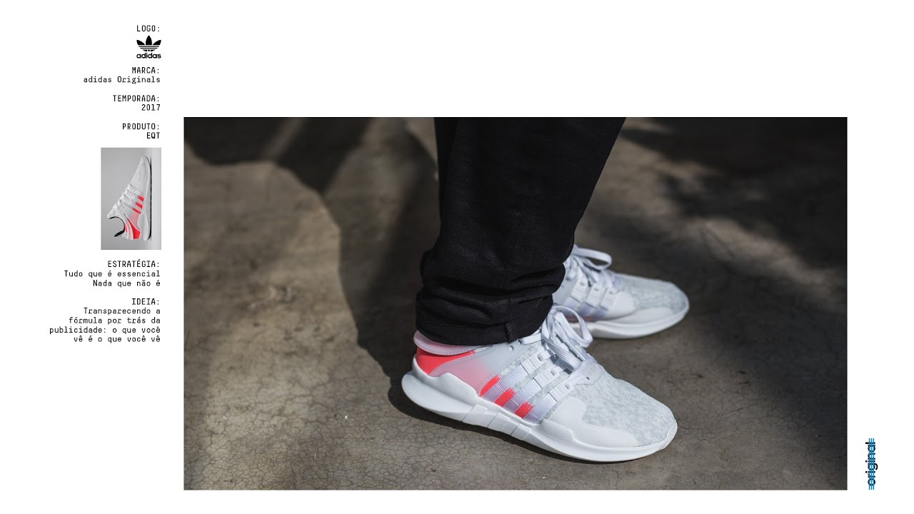 new styles 76ef0 cd23f SneakersBR Unboxing e On-Feet adidas EQT Support ADV Branco