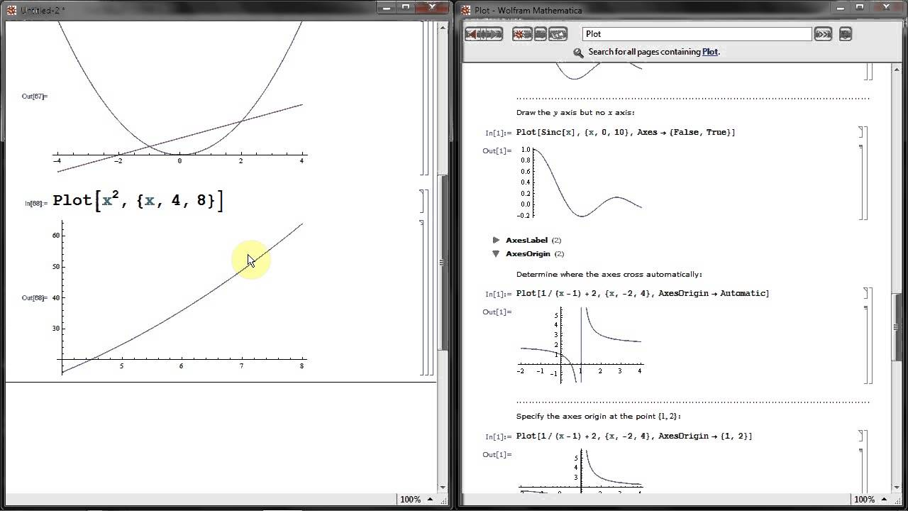 Plot Function Plotting Graphs In Mathematica A Basic Tutorial