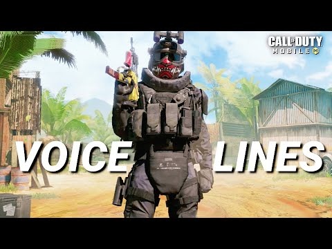 CALL OF DUTY MOBILE – ALL CHARACTERS VOICELINES ( PART – 1)