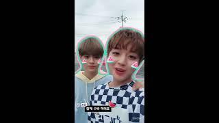 SNOW LIVE_워너원 '워너원 스노우 광고 촬영 현장 비하인드'