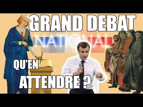 TIRAGE : le grand débat national