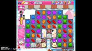 Candy Crush Level 1493 help w/audio tips, hints, tricks