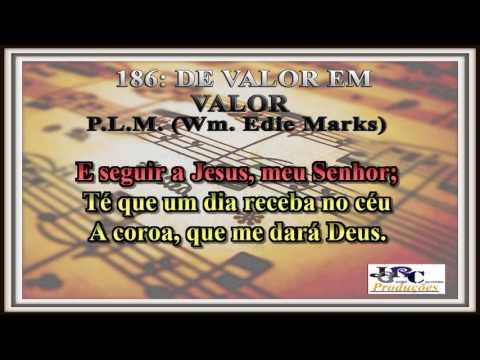 186   De Valor em Valor Karaoke/playback