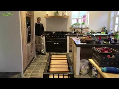 Hidden Basement Stairs Youtube | Kitchen With Stairs To Basement | Next | Mid Century | Living Room | Narrow | Ranch