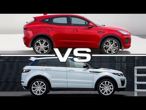 2018 Jaguar E-Pace vs 2016 Range Rover...