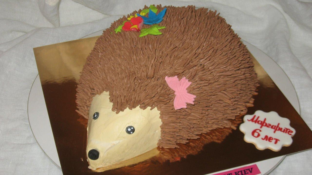 Как сделать торт ёжик 98