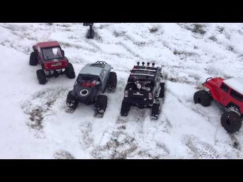 The Big Test RC4WD Deep Lug Tracks VS. Six Other Trucks with Different 2.2 Tires