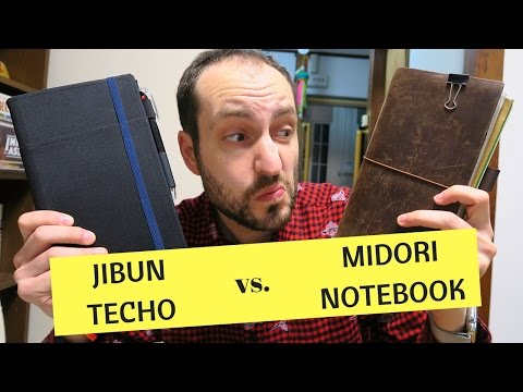 Still better than a Midori Traveler's Notebook?  One year with the Jibun Techo