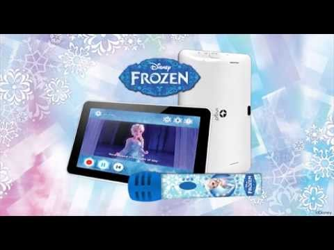 Tablet Ingo Devices + Microphone FROZEN Karaoke APP