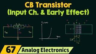 CB Transistor (Input Characteristics & Early Effect)