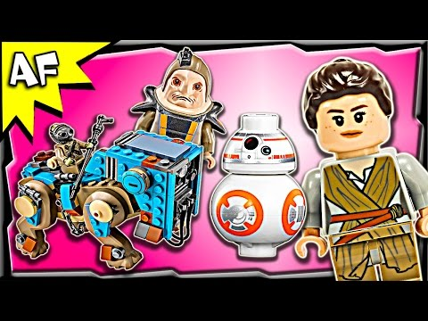 Lego Star Wars Encounter on JAKKU 75148 Stop Motion Build Review