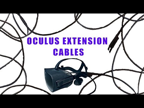 Oculus Extension Cables 1 Sensor Room Scale