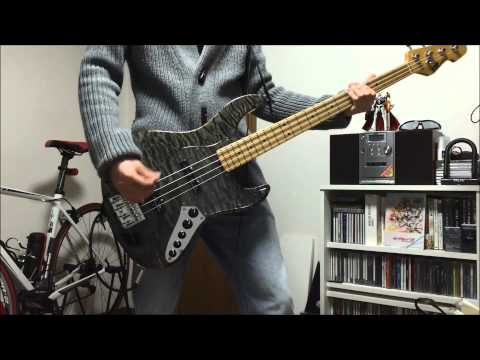 【LUNA SEA】TRUE BLUE 気軽に弾いてみた~bass cover~