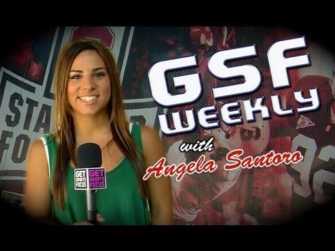 Stanford Football Open House - GSF Weekly w/ Angela Santoro