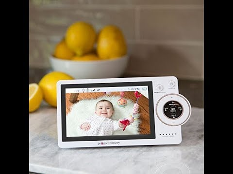 Project Nursery High-Definition Dual Connect Baby Monitor System with WiFi Viewing, Dedicated Parent