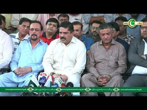 Anis Kaimkhani Press Conference Deputy Mayor Karachi Arshad Vohra Joins PSP 29 October 2017