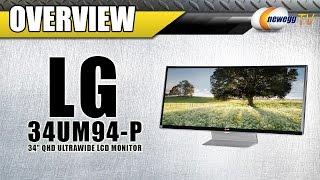 """LG 34UM94-P 34"""" QHD UltraWide Monitor Overview - Newegg TV"""