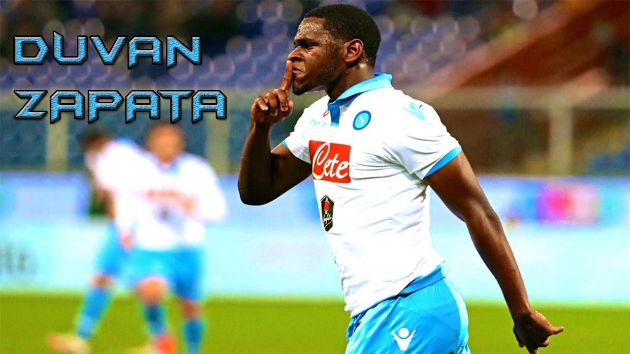S S C Napoli: Duván Zapata 2014/2015 Skills & Goals