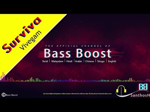 Surviva Song From Vivegam (((Bass Boost)))