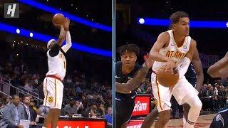 Trae Young SICK No-Look Assist to Vince Carter - Magic vs Hawks | 2019 NBA Preseason