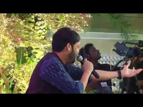 Anoop Shankar singing kalyana then nila song