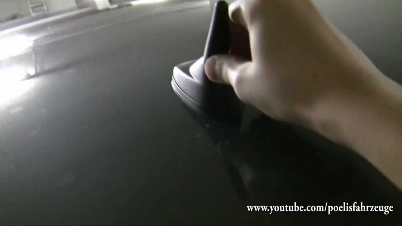 Kurze Autoradioantenne Anpassen Und Anbringen Youtube