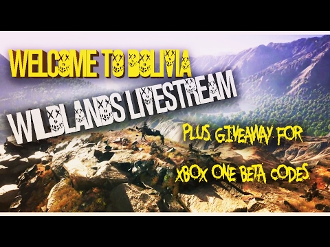 #GhostRecon LIVESTREAM + XB1 BETA CODES TO GIVEAWAY... Welcome To Bolivia