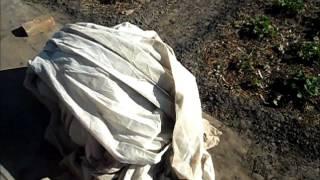 видео Холстопрошивное полотно (ХПП) по низкой цене в Краснодаре