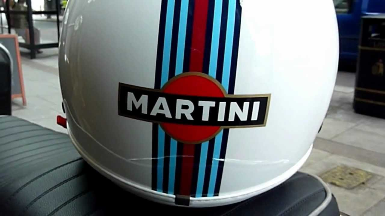 The  quot Martini Racing quot  helmet by NewMax  - YouTube
