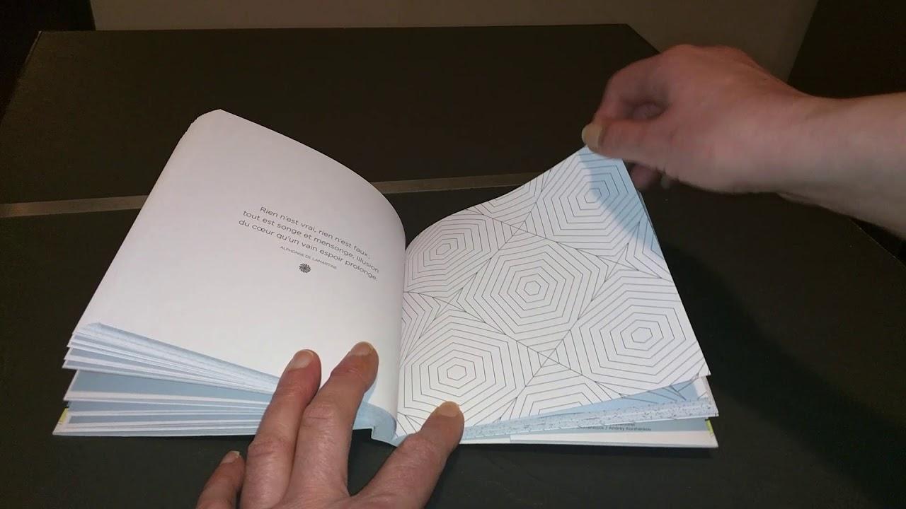 Coloriage Anti Stress Illusion Doptique.Livre De Coloriage Anti Stress Adulte Illusions D Optique Par