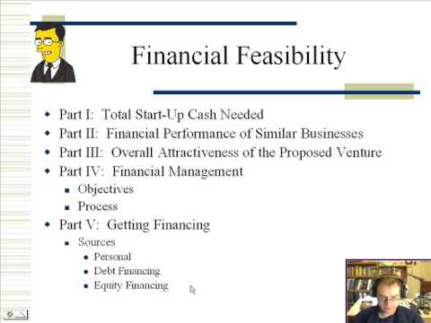 Part 1: Financial Feasibility Analysis - Youtube