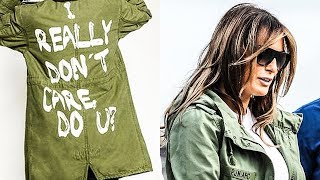 Melania Trump Spits In The Face Of Every Detained Immigrant Child With Offensive Jacket