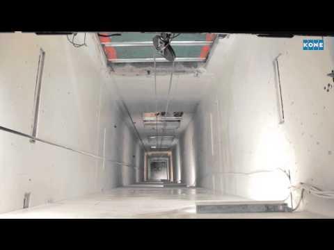 KONE NanoSpace™elevator replacement process video