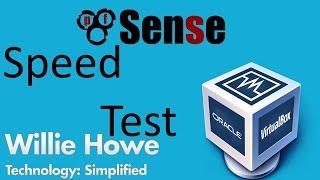 pfSense Speed Test