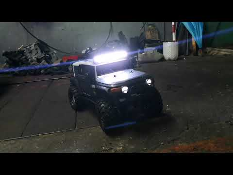 HPI venture Toyota FJ Cruiser from Portugal custom led bar 🇵🇹🇵🇹🇵🇹😍😍