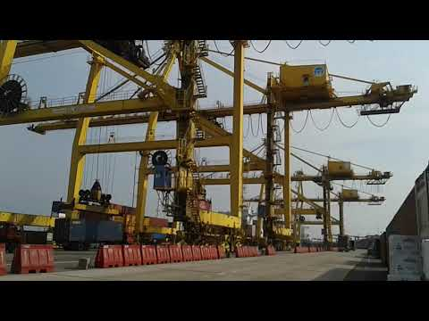 Chittagong Port Container loading & unloading System