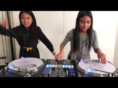 DJs Amira & Kayla Deejaying To Biggie
