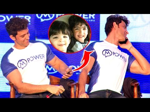 Hrithik Roshan Gets Call From Son During Press Conference- What He Does Next Wll Blow Your Mind