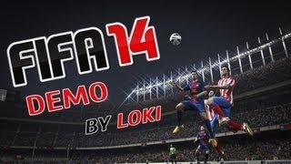 FIFA 14 Demo Gameplay HD
