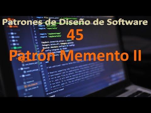 patrón-memento-ii---45---patrones-de-diseño-de-software