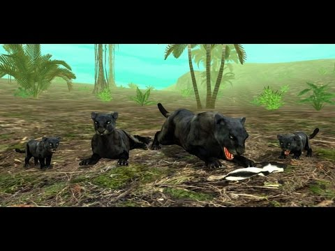Wild Panther Sim 3D: Rainforest RPG Adventures - Android / iOS - Gameplay