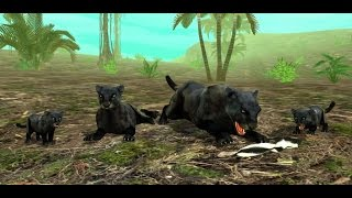 wild panther sim 3d rainforest rpg adventures android ios gameplay