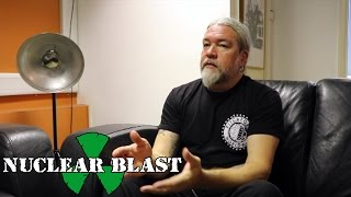 MESHUGGAH - Writing About Contemporary World Issues (OFFICIAL INTERVIEW)